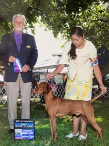 Finney's major at Woofstock